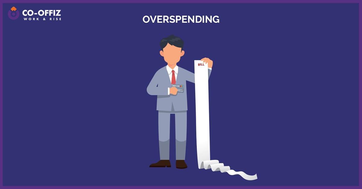 Overspending-startup