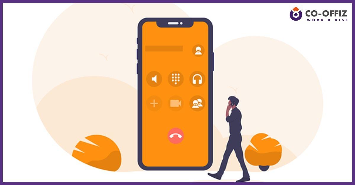 mobile-phone-volume-office