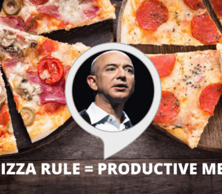 TWO PIZZA RULE INCREASES PRODUCTIVITY